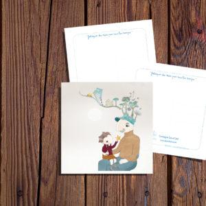 Léo et Léon - Carte Postale
